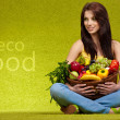 Fruits and vegetables shopping — Stock Photo #4786604