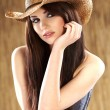 Sexy woman with cowboy hat — Stock Photo #4897860