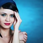 Glamour portrait of a beautiful woman — Stock Photo