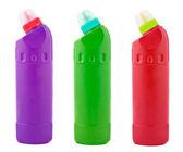 Bottle of detergent — Stock Photo