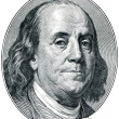 Benjamin Franklin — Foto Stock #4630577