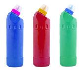 瓶清洁剂 — 图库照片