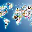 World map — Stockfoto #4775857