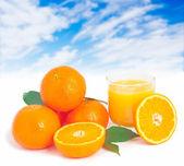Portakal suyu. — Stok fotoğraf