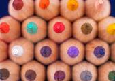 Farbstiften. — Stockfoto