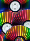 Close-up of CDs — Stock Photo