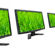 Stock Photo: Monitors.