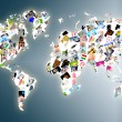 World map — Stock Photo #5183582