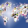 World map — Stock Photo #5236829