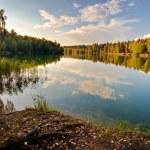 Autumnal lake — Stock Photo #4214766