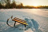 Winter sunset — Stock Photo