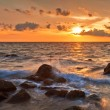 Tropical sea sunset — Foto de Stock