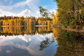 Autumnal lake — Foto de Stock