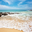 Stock Photo: Exotic tropical beach
