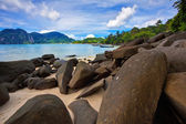 Beautiful tropical beach — Stok fotoğraf