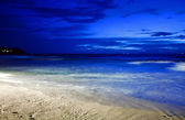Night on the tropical beach. Phuket. Thailand — Stock Photo