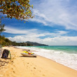 Exotic tropical beach — Stock Photo