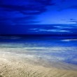 Night at the tropical beach — Stock Photo #5203391