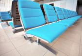 抽象机场席位 — 图库照片