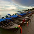Thai boats near the beach — Stock Photo