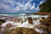 美丽的热带海滩 — 图库照片