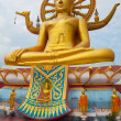 Stock Photo: Big buddha statue
