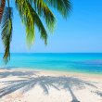 Beach and sea — Stock Photo #5279447