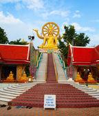 Estatua del gran buda en koh samui — Foto de Stock