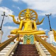 Big buddha statue on koh samui, thailand — Stock Photo