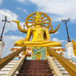 Big buddhstatue on koh samui, thailand — Stock Photo #5282542