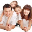 Happiness family — Foto Stock