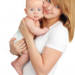 Mother with baby — Stock Photo #5235698