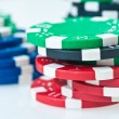 Stack of poker chips — Stock Photo #5217011