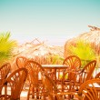 Cafe on resort — Stock Photo #5217212