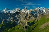 查看从希尔特峰山 — 图库照片