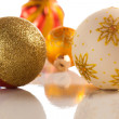 Christmas balls isolated — Stock Photo #4431965