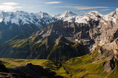 View from the Schilthorn mountain — Stock Photo