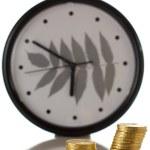 Euro coin on white background — Stock Photo
