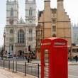Westminster Abbey. London, England — Stock Photo