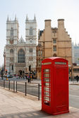Westminster Abbey. London, England — Foto de Stock
