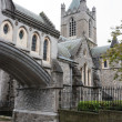 Christ Church Cathedral. Dublin, Ireland — Stock Photo