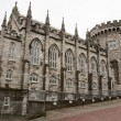 Dublin Castle. Ireland - Stock Photo