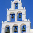 Stock Photo: Bell tower. Santorini, Greece