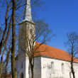 Stock Photo: Old Church. Estonia