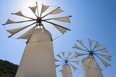 Mulini a vento. Creta — Foto Stock