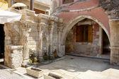 Old fountain. Rethymno. Crete, Greece — Stock Photo