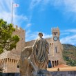 Prince's Palace in Monaco - Stock Photo