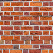 Red brick wall — Stockfoto #5287675