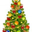 Christmas tree — Vector de stock #4115827