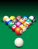 Pool — Stock Vector
